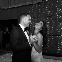Video Still: The couple have their first dance